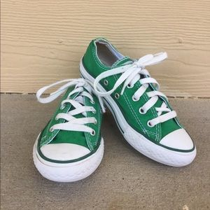Kids' Green Converse Sz 12